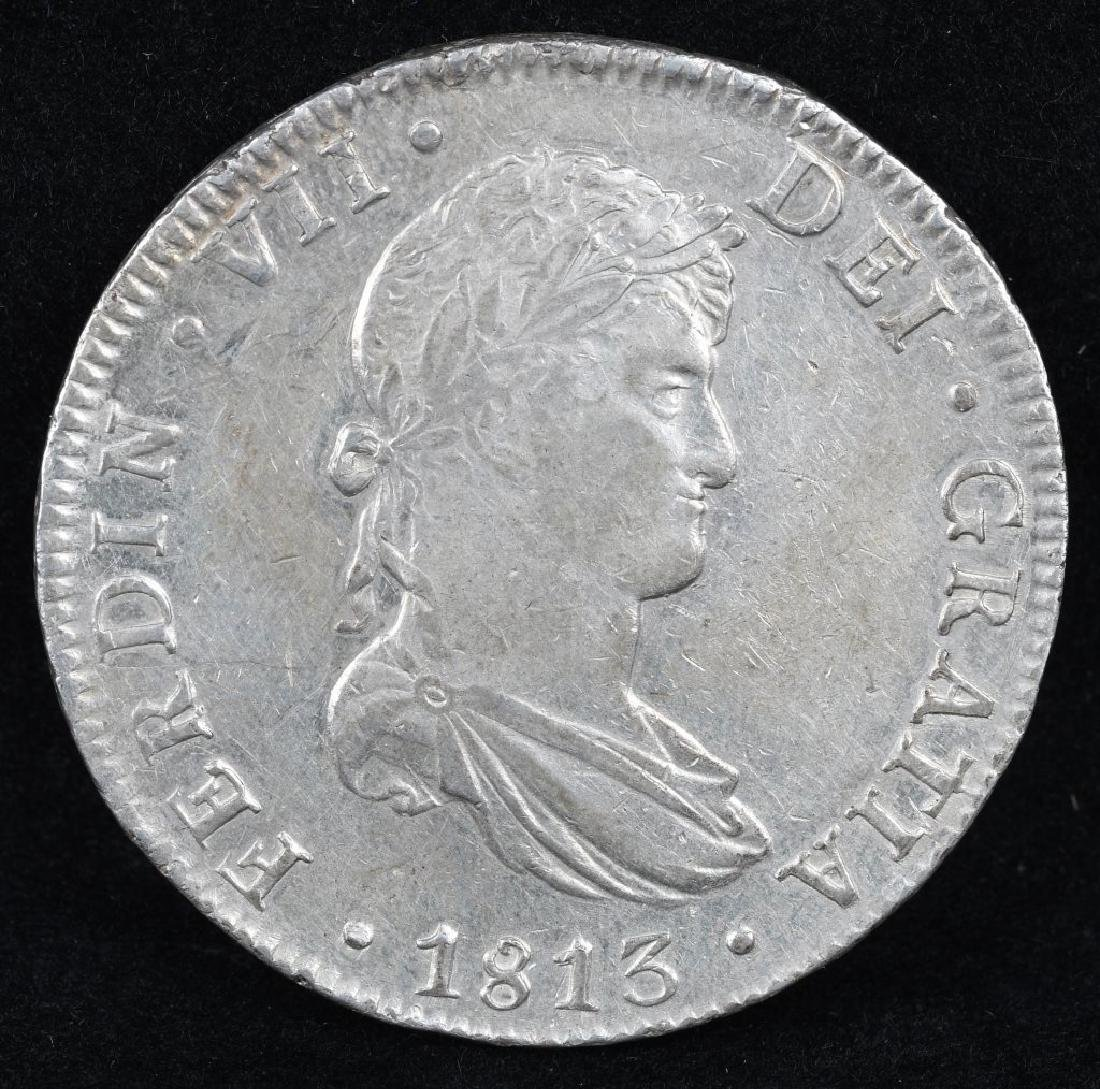 1813 SILVER 8 REALES