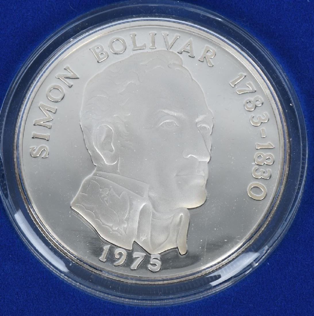 4-REPUBLIC of PANAMA SILVER, 20 BALBOAS & MORE - 2