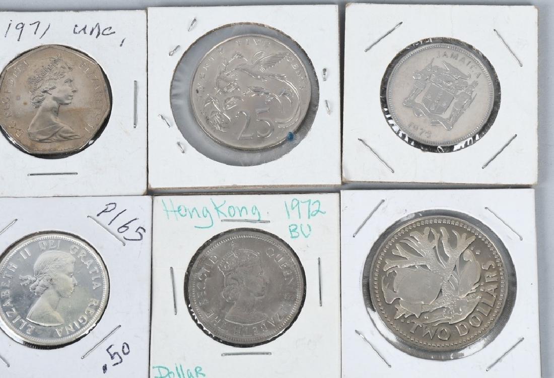 ASSORTED WORLD COINS CANADA, JAMAICA & MORE - 2