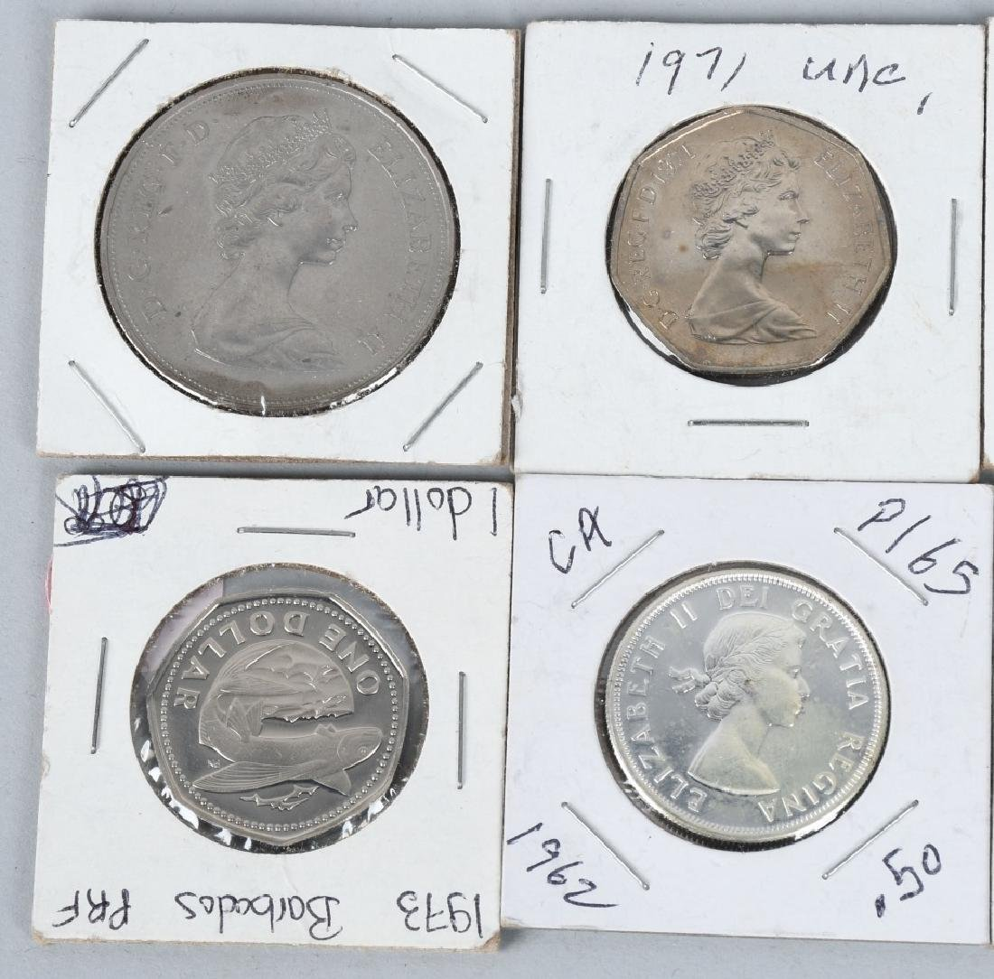 ASSORTED WORLD COINS CANADA, JAMAICA & MORE - 3