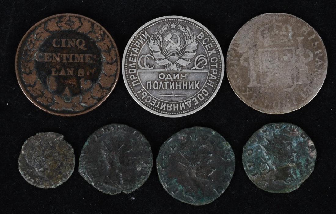 4-ANCIENT CLAUDIUS ROMAN COINS, & MORE - 2
