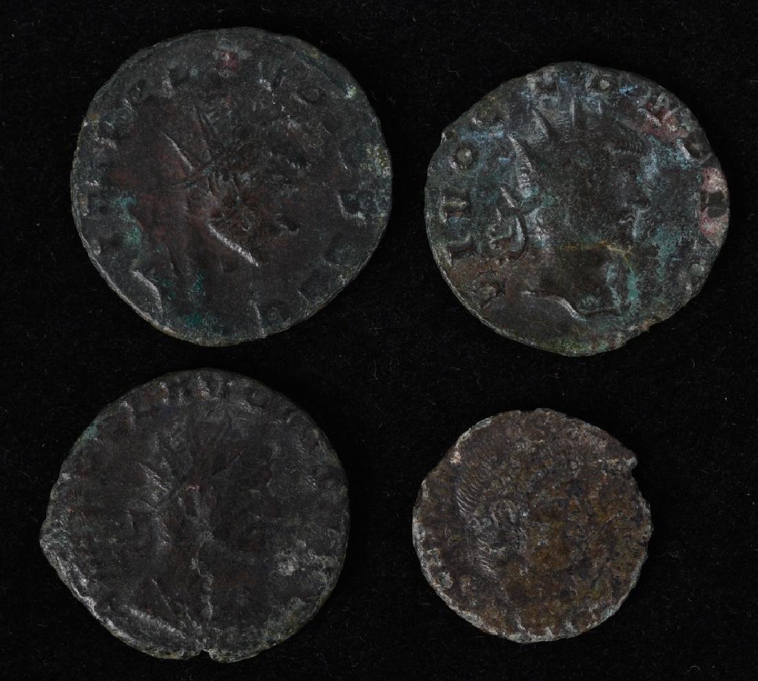 4-ANCIENT CLAUDIUS ROMAN COINS, & MORE - 3