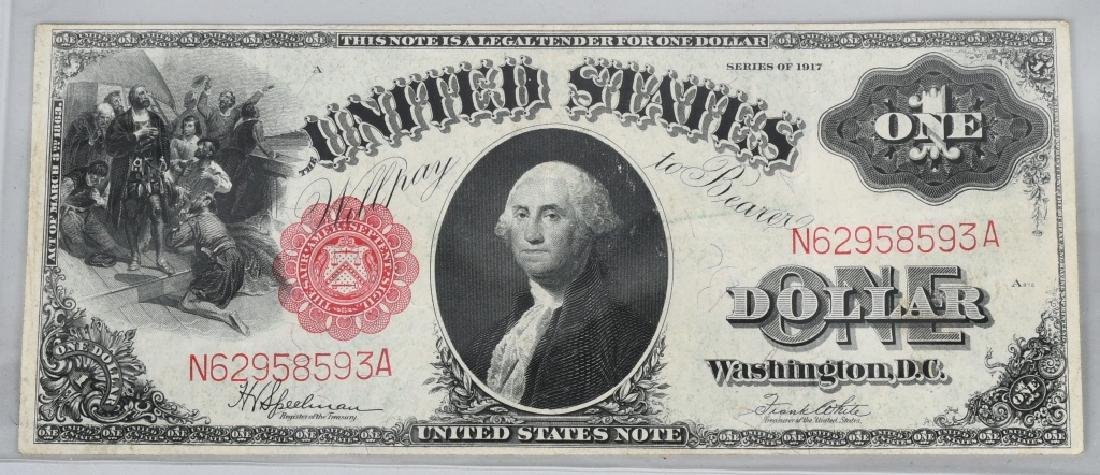 SERIES 1917 UNITED STATES LARGE $1.00 NOTE