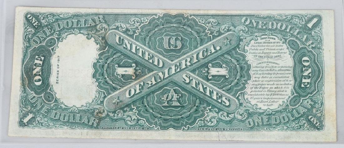 SERIES 1917 UNITED STATES LARGE $1.00 NOTE - 2