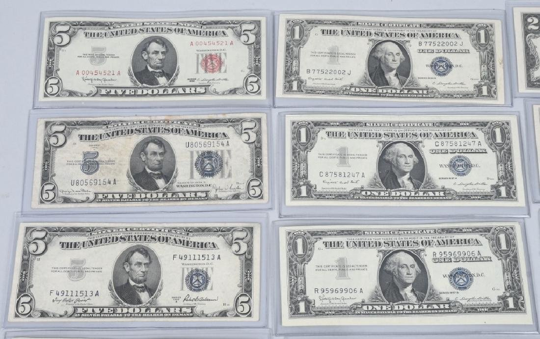 SILVER CERTIFICATES, RED SEALS, & MORE, CURRENCY - 2
