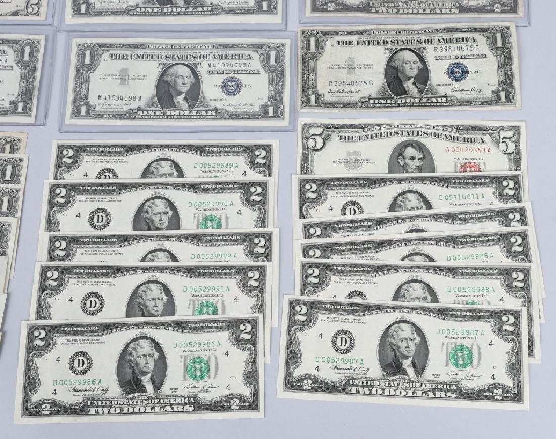 SILVER CERTIFICATES, RED SEALS, & MORE, CURRENCY - 4
