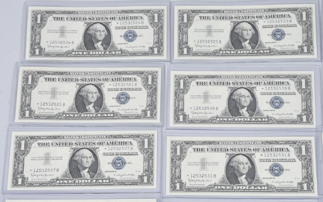 1957B SILVER CERTIFICATE STAR NOTES 20-CONSEC #s - 2