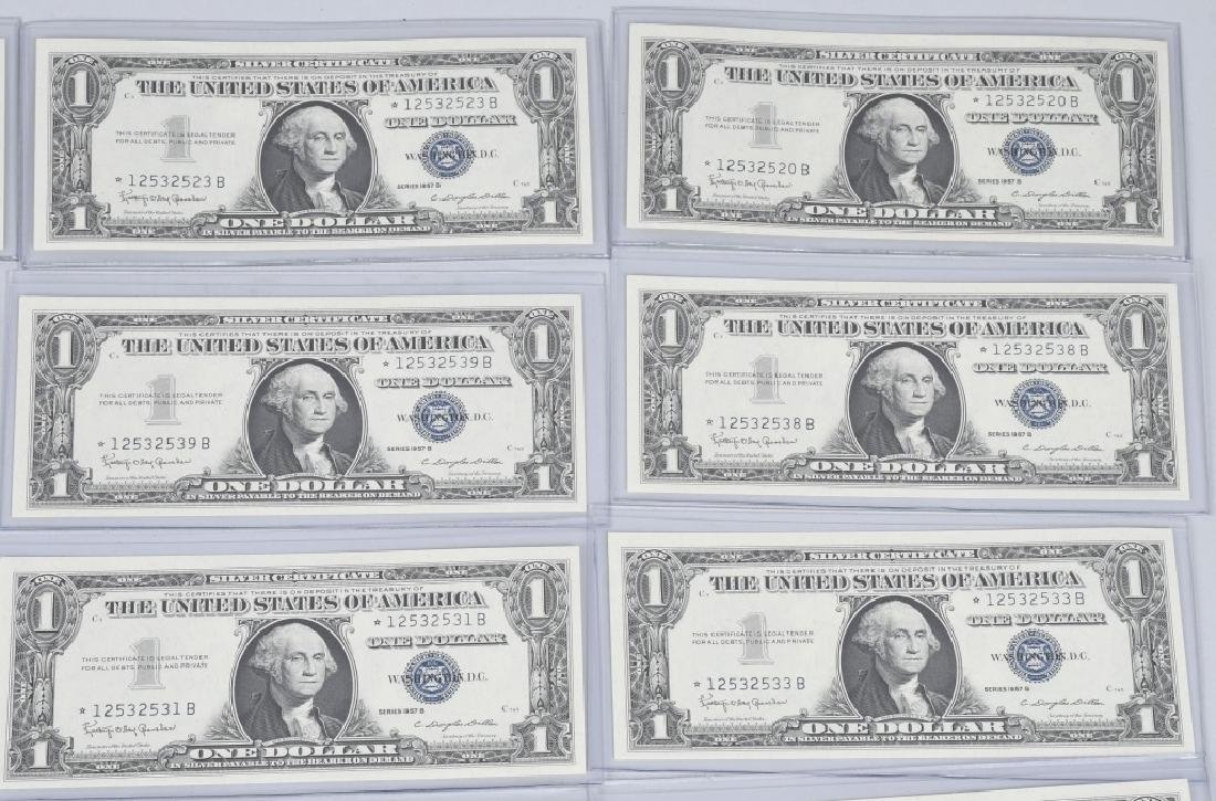 1957B SILVER CERTIFICATE STAR NOTES 20-CONSEC #s - 3