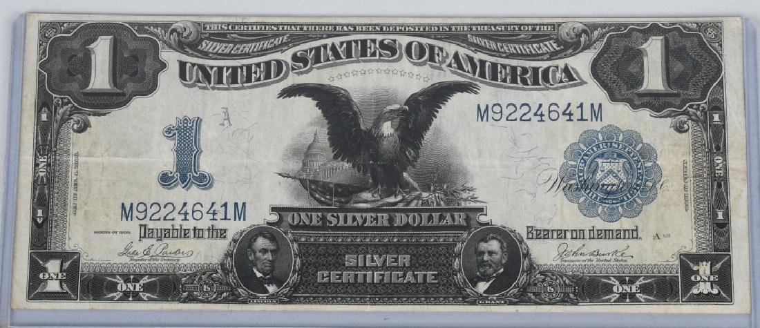 SERIES 1899 UNITED STATES LARGE $1.00 NOTE