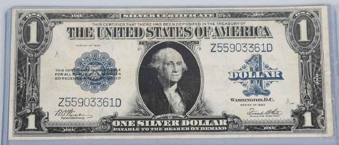 SERIES 1923 UNITED STATES LARGE $1.00 NOTE