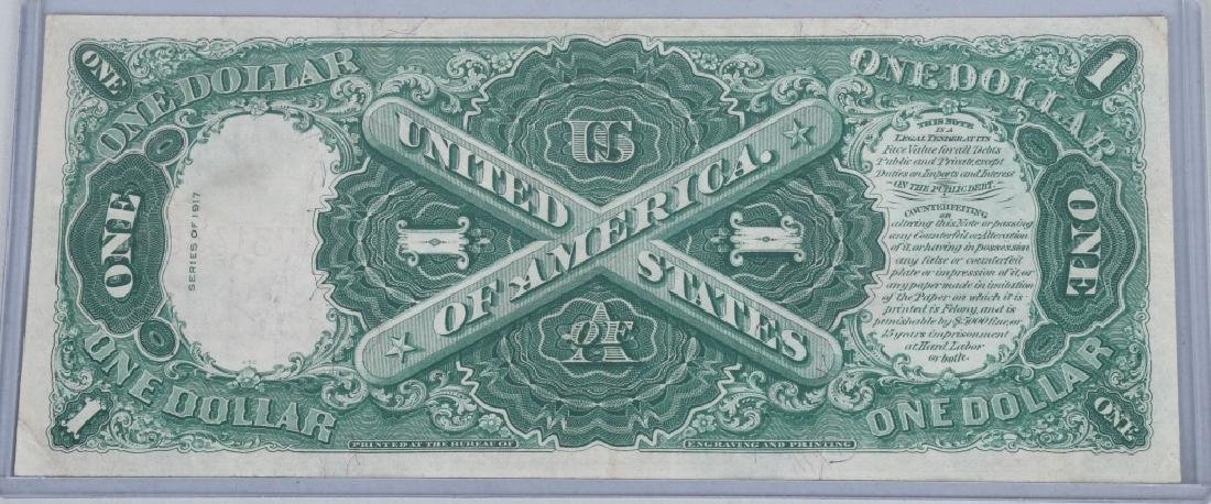 2-SERIES 1917 LARGE NOTES, $1.00 & $2.00 - 3