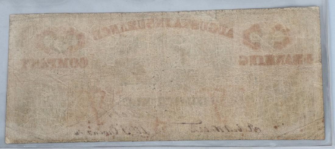 3-CIVIL WAR ERA GEORGIA STATE NOTES $100 & 2-$5 - 5