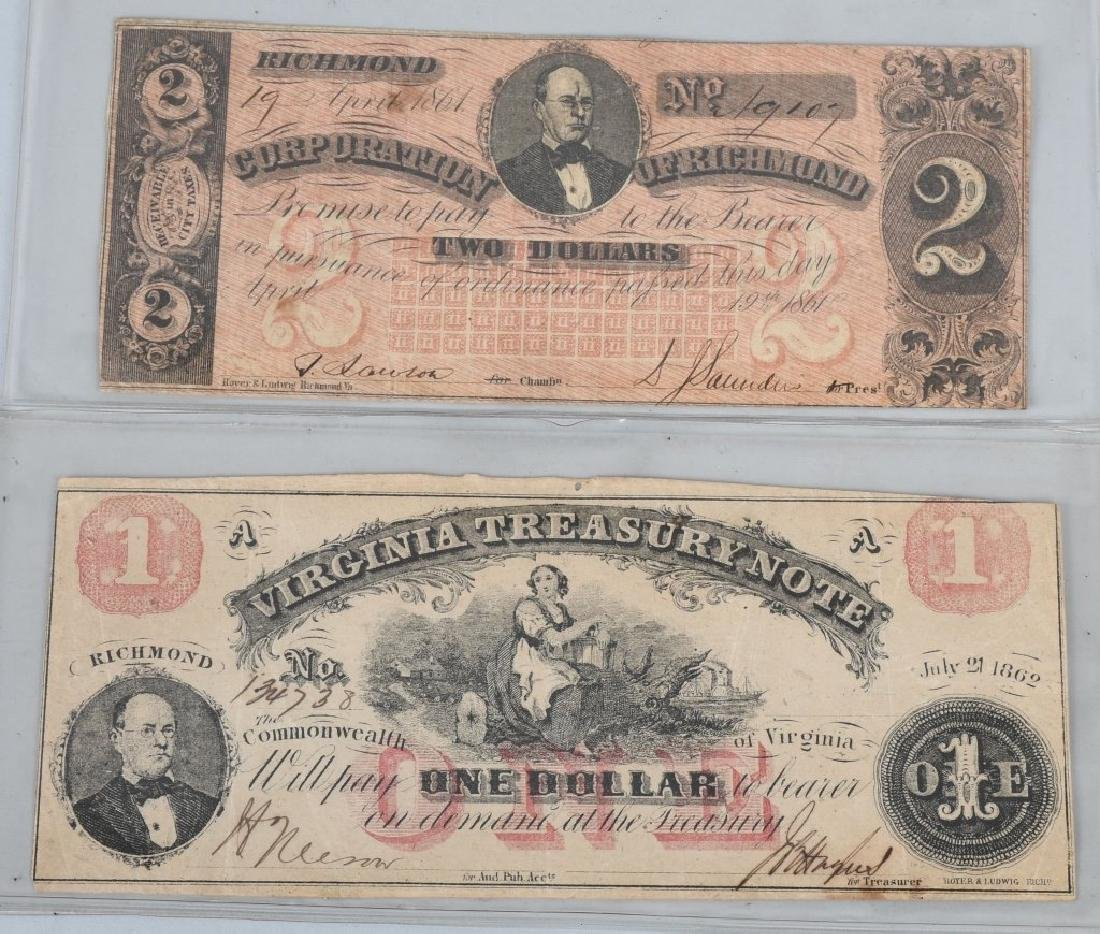 7-CIVIL WAR ERA VIRGINIA STATE NOTES - 2