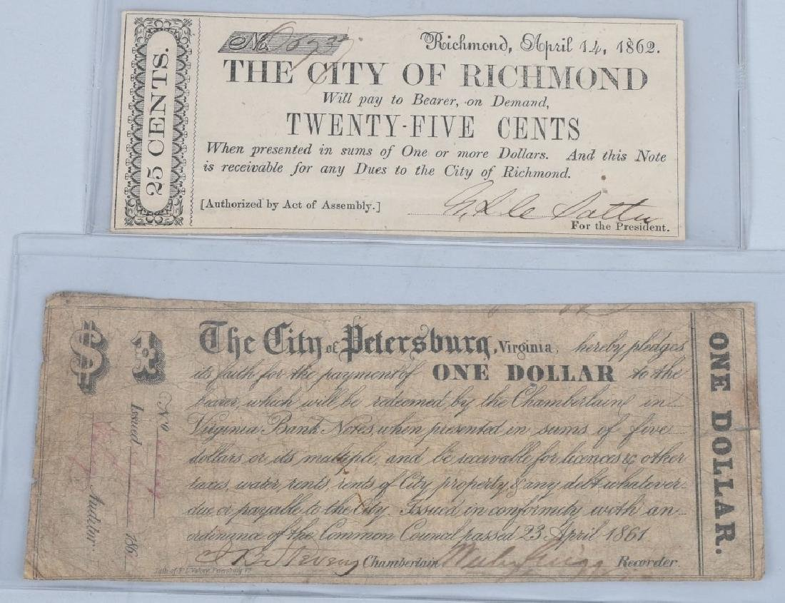 7-CIVIL WAR ERA VIRGINIA STATE NOTES - 6