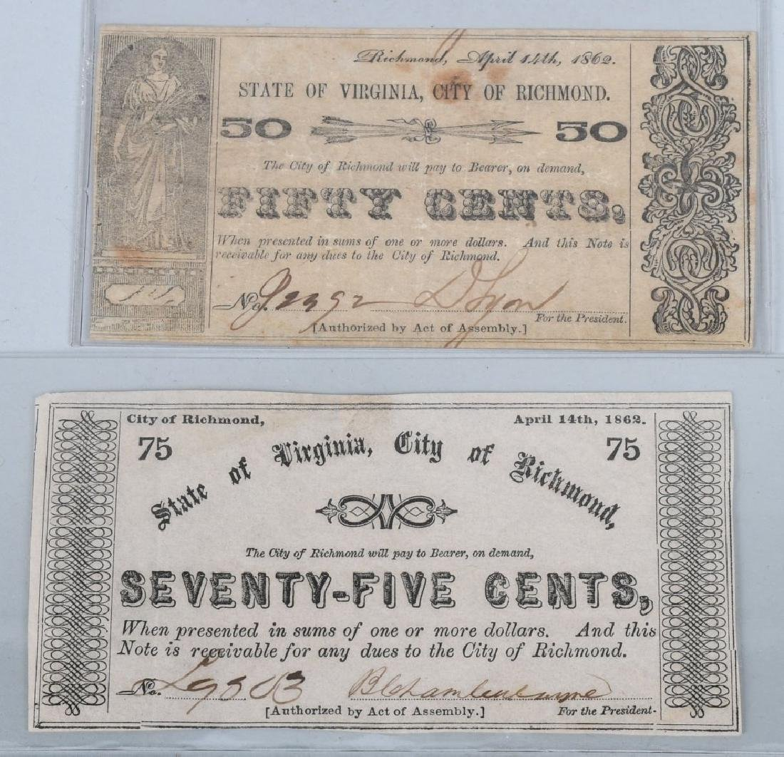 7-CIVIL WAR ERA VIRGINIA STATE NOTES - 8