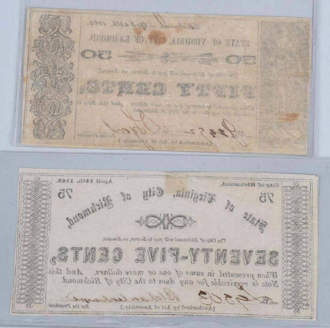 7-CIVIL WAR ERA VIRGINIA STATE NOTES - 9