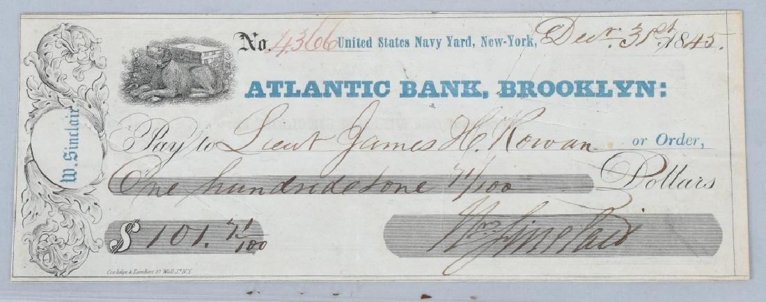 4-19th CENTURY BANK CHECKS 1814-1862 - 6