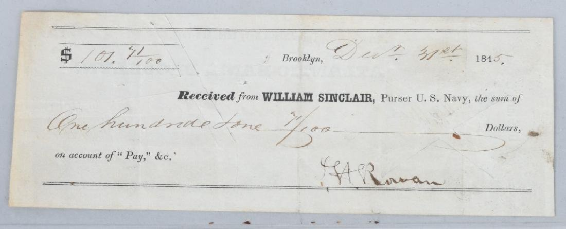 4-19th CENTURY BANK CHECKS 1814-1862 - 7