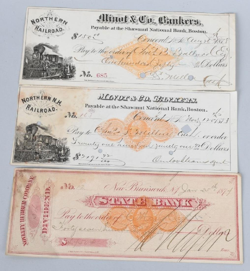 19th CENTURY EPHEMERA LOT 1805-1878 - 2