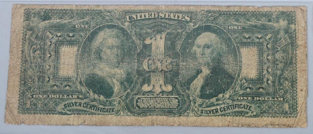 1896 SILVER CERTIFICATE $1.00, - 4