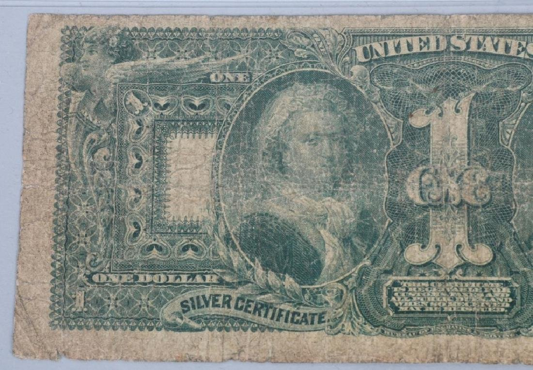 1896 SILVER CERTIFICATE $1.00, - 5