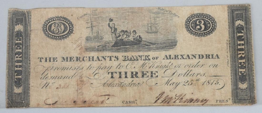4-19th CENTURY OBSOLETE BANK NOTES - 2