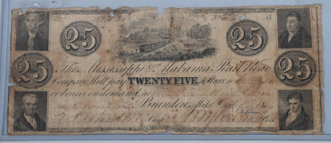 4-19th CENTURY OBSOLETE BANK NOTES - 6