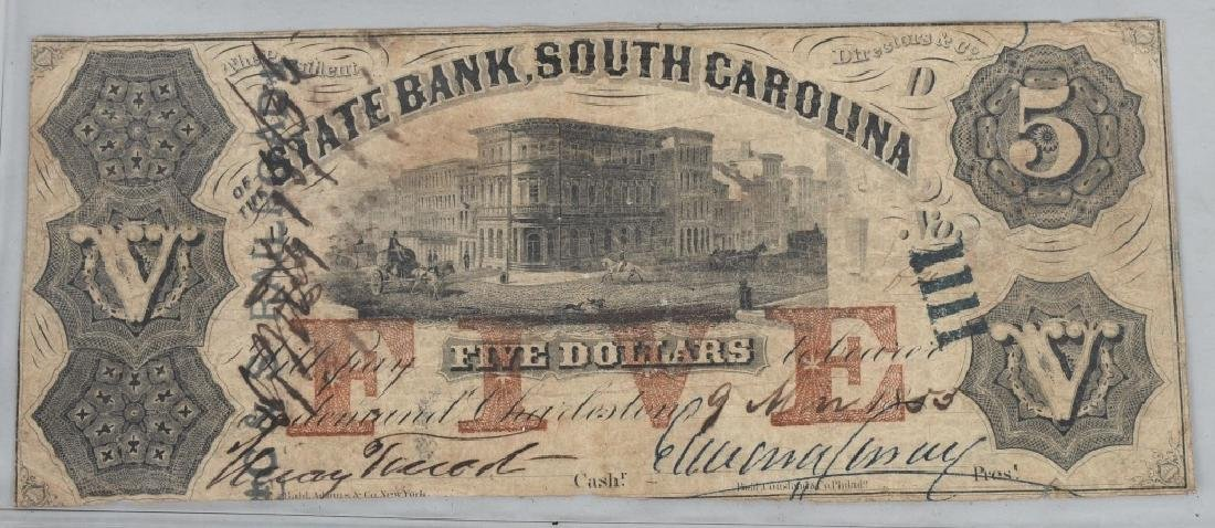 4-19th CENTURY OBSOLETE BANK NOTES - 8