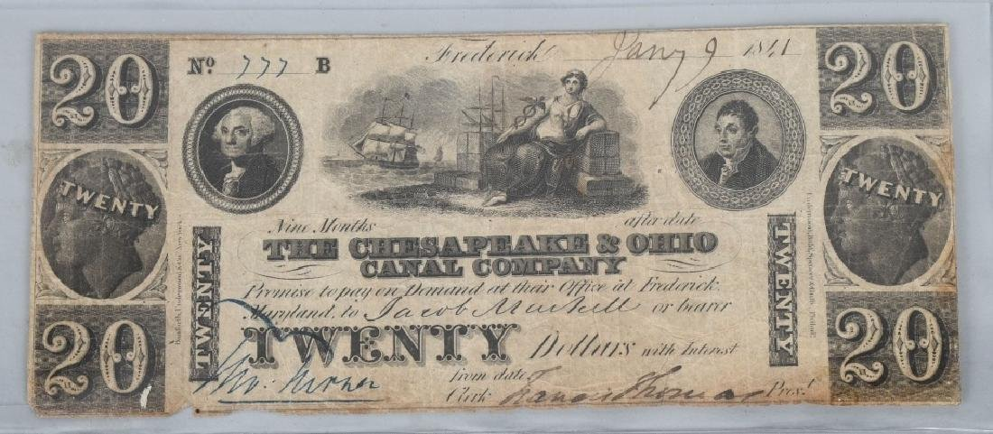 4-19th CENTURY OBSOLETE BANK NOTES - 4
