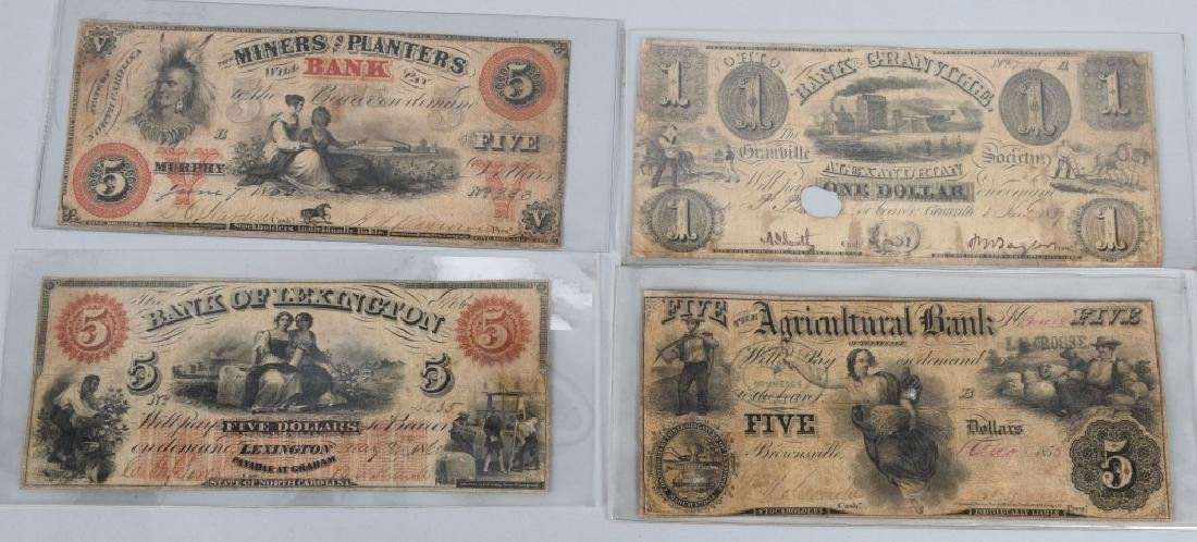 4-19th CENTURY OBSOLETE BANK NOTES
