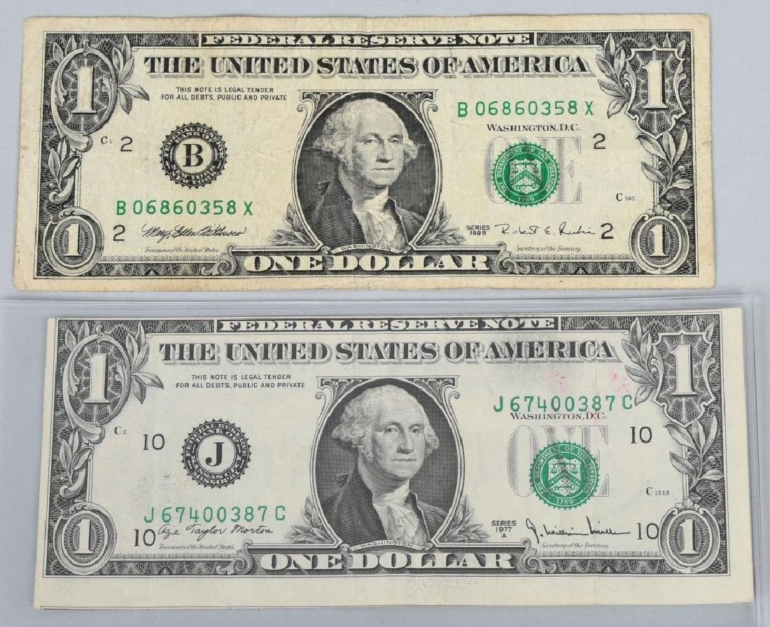 2-FEDERAL RESERVE NOTE ERRORS, GHOSTING & BORDER