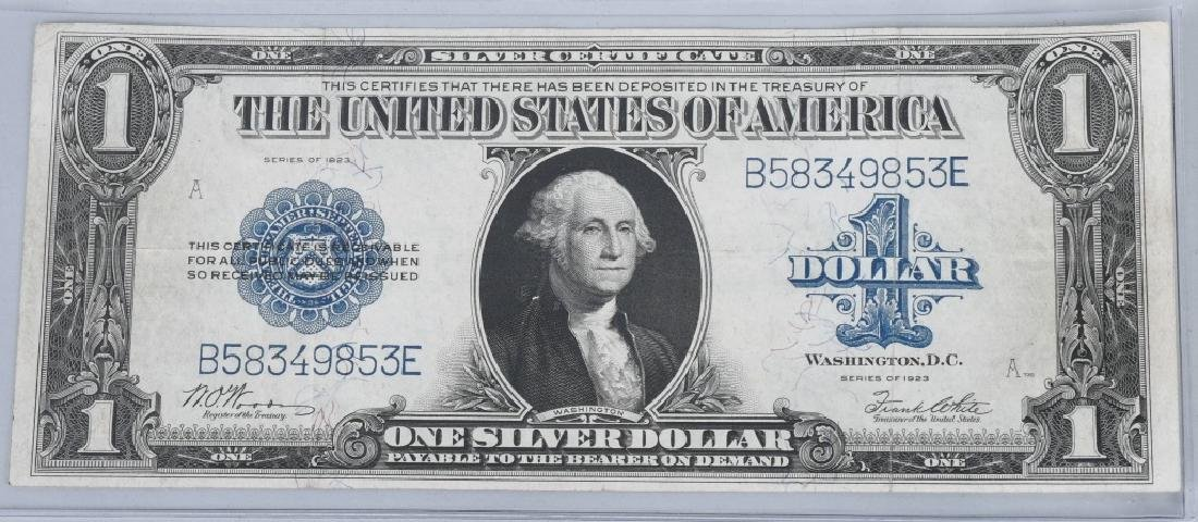 6-SILVER CERTIFICATES, 1923, 1928A, 1934D and 1935 - 2