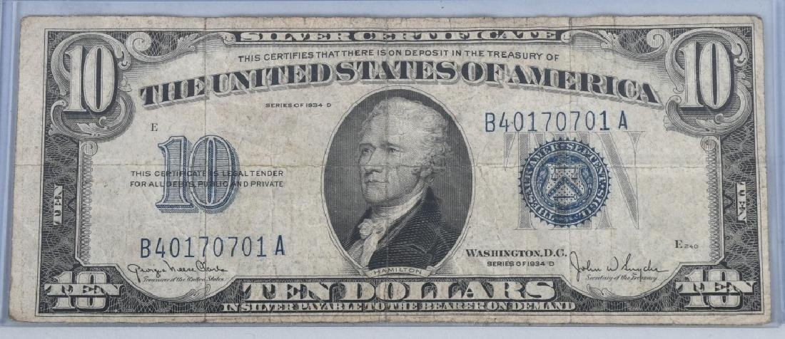 6-SILVER CERTIFICATES, 1923, 1928A, 1934D and 1935 - 4
