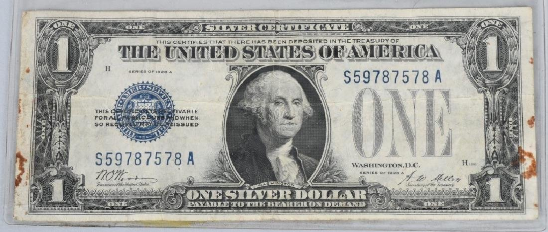 6-SILVER CERTIFICATES, 1923, 1928A, 1934D and 1935 - 6