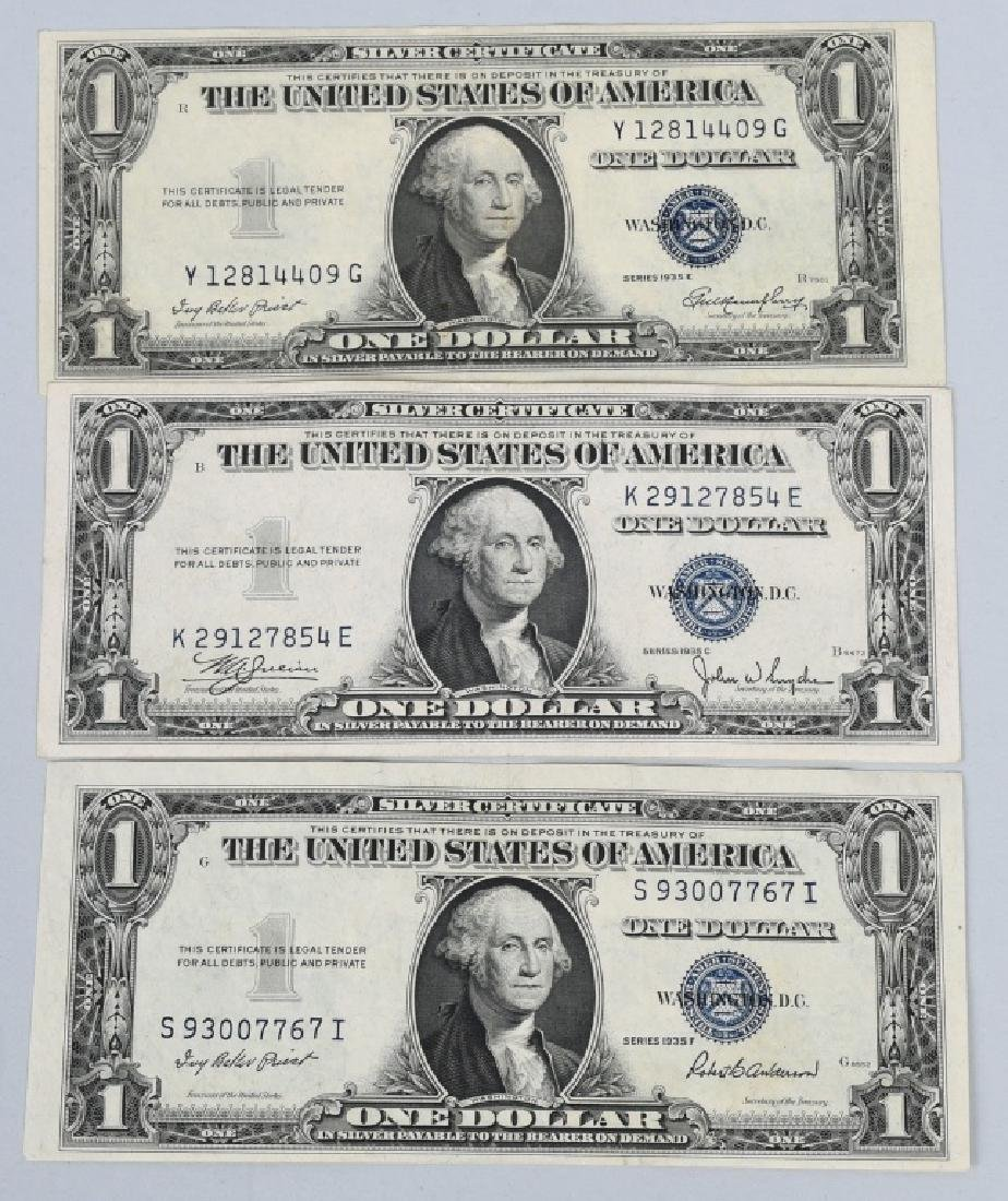 6-SILVER CERTIFICATES, 1923, 1928A, 1934D and 1935 - 8