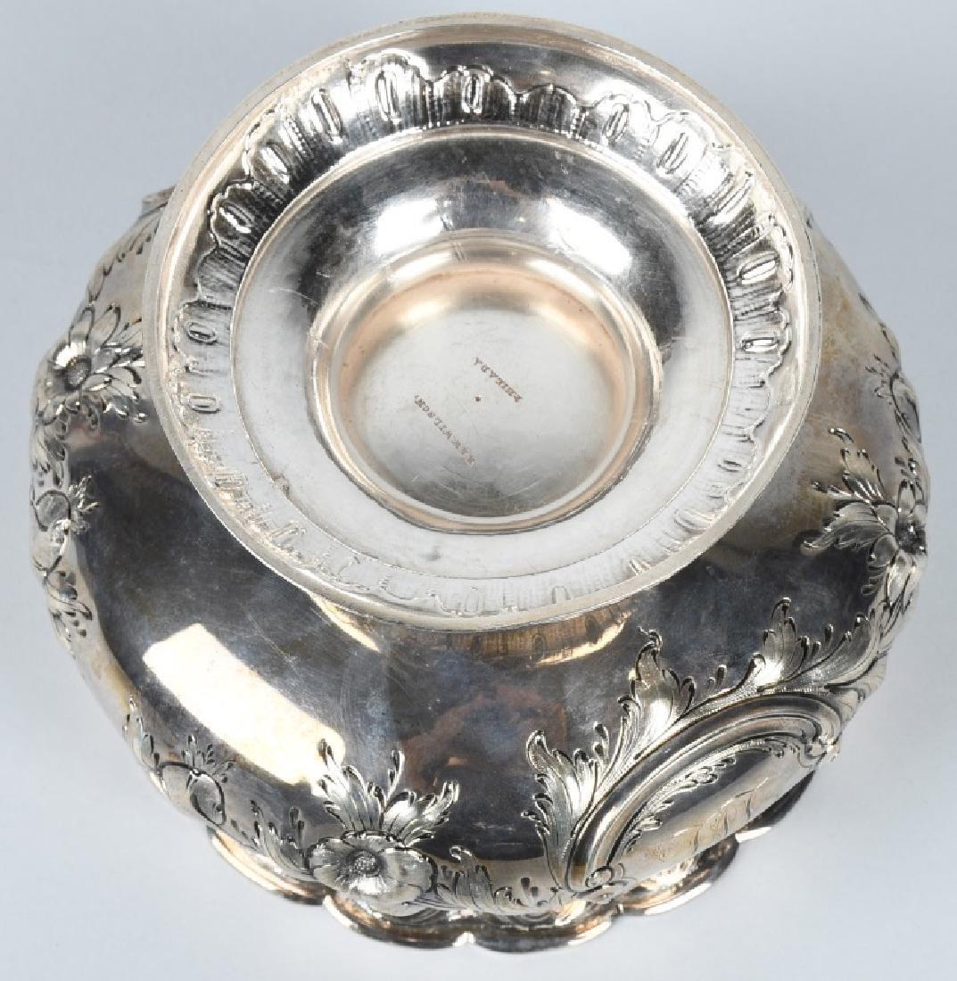 R&W WILSON SILVER BOWL Circa 1825 - 5