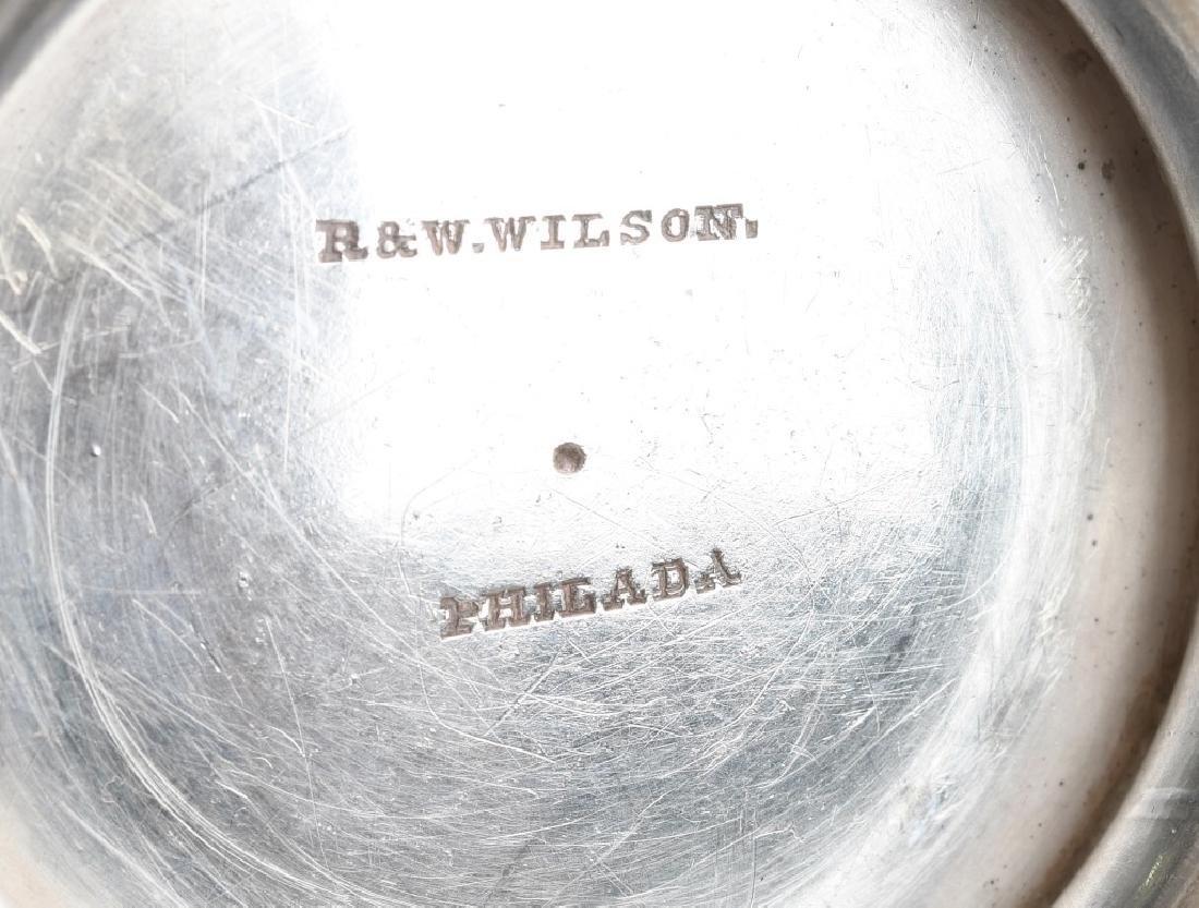 R&W WILSON SILVER BOWL Circa 1825 - 6