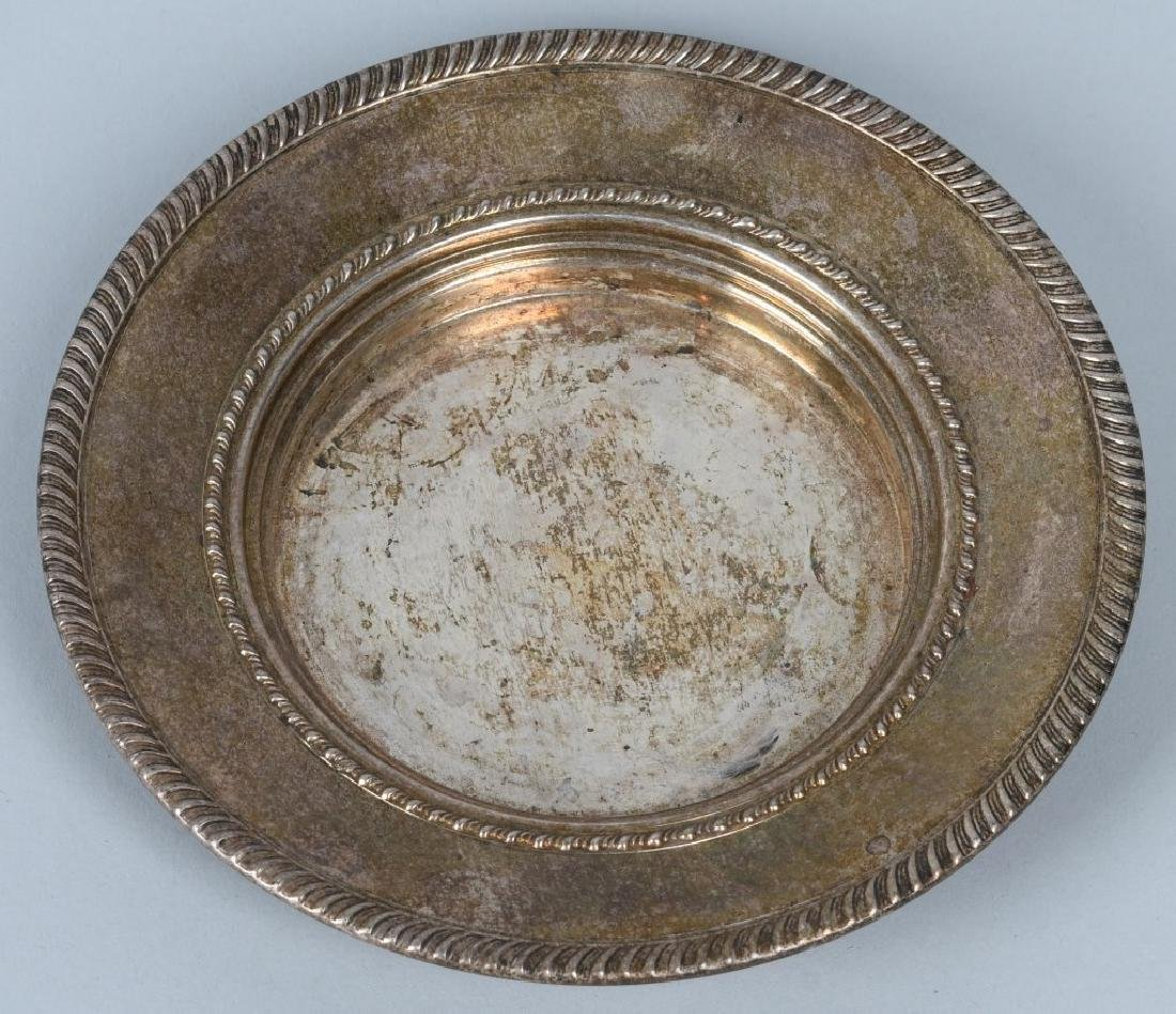 2-STERLING SILVER PLATES, 24.6 OZ - 4