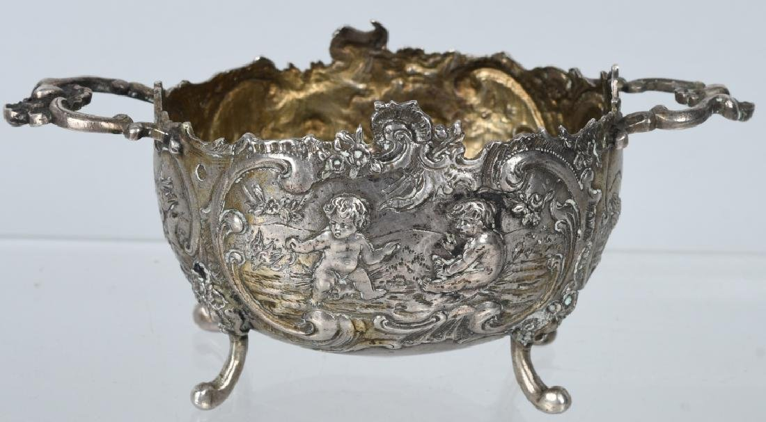 SILVER RELIEF ETCHED SUGAR w/ CHERUBS