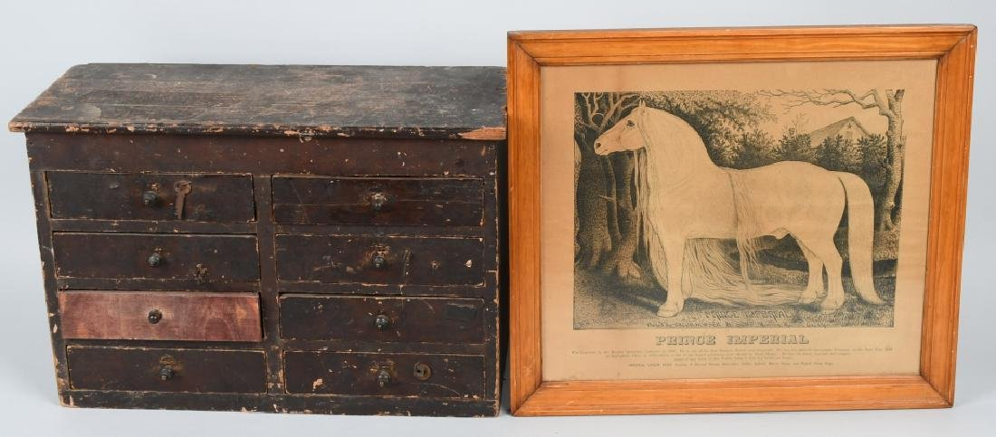 19th CENT. PRINCE IMPERIAL HORSE PRINT & MORE