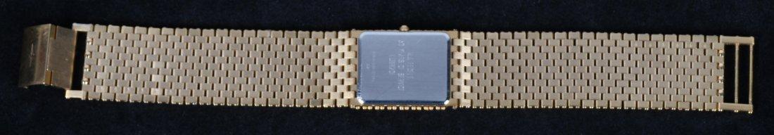 LONGINES QWR 14k GOLD PLATED MENS DRESS WATCH MIB - 4