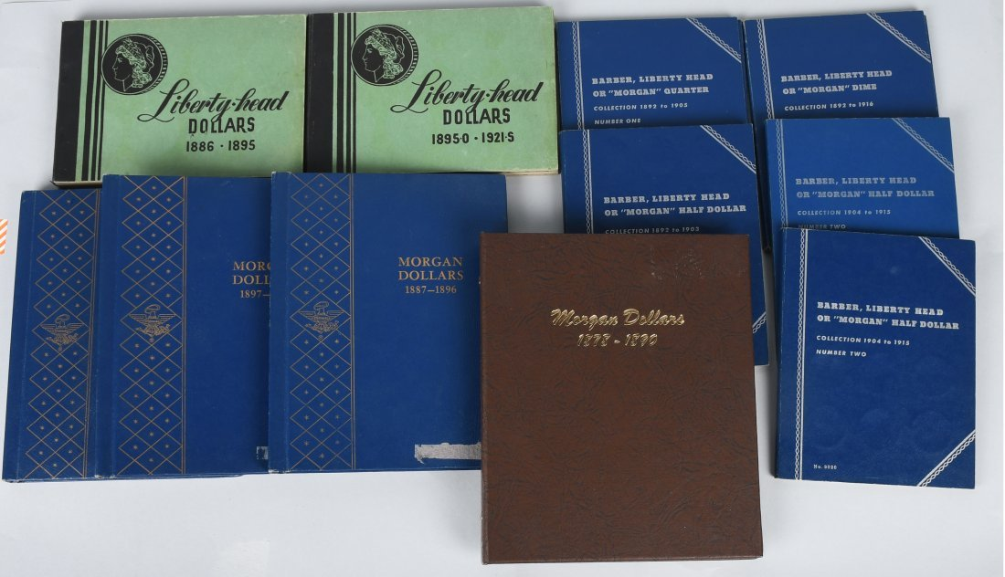 11- ASSORTED COIN ALBUMS