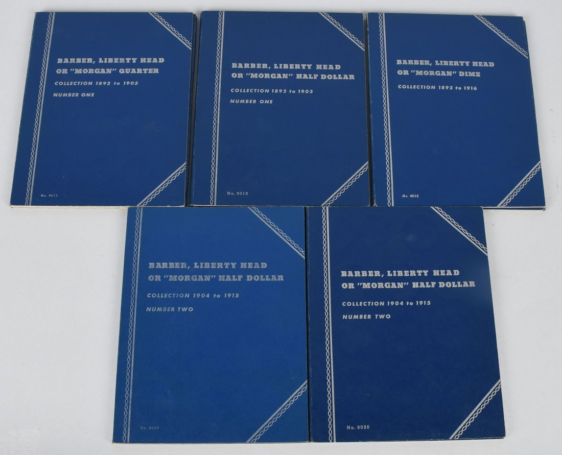 11- ASSORTED COIN ALBUMS - 3
