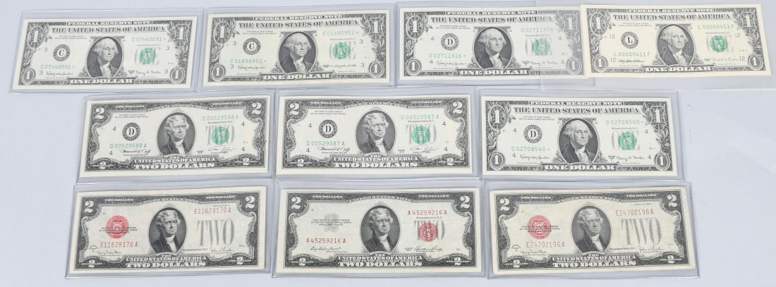 RED SEALS, STAR NOTES, & LOW SERIAL # LOT