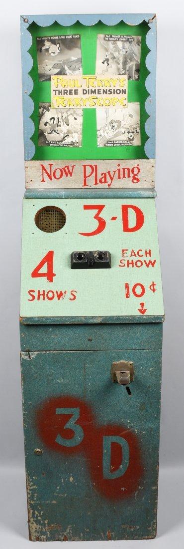 1954 10c TERRYSCOPE TERRY\'S CARTOON 3D MACHINE