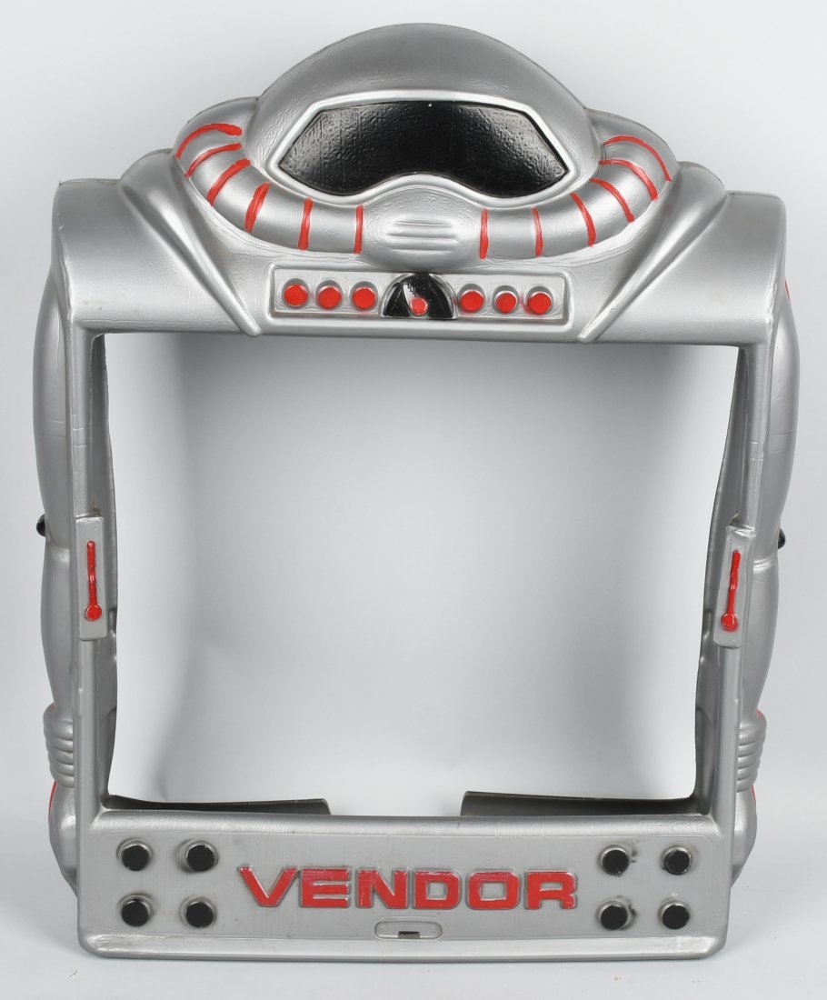 VENDOR ROBOT GUMBALL MACHINE COVER