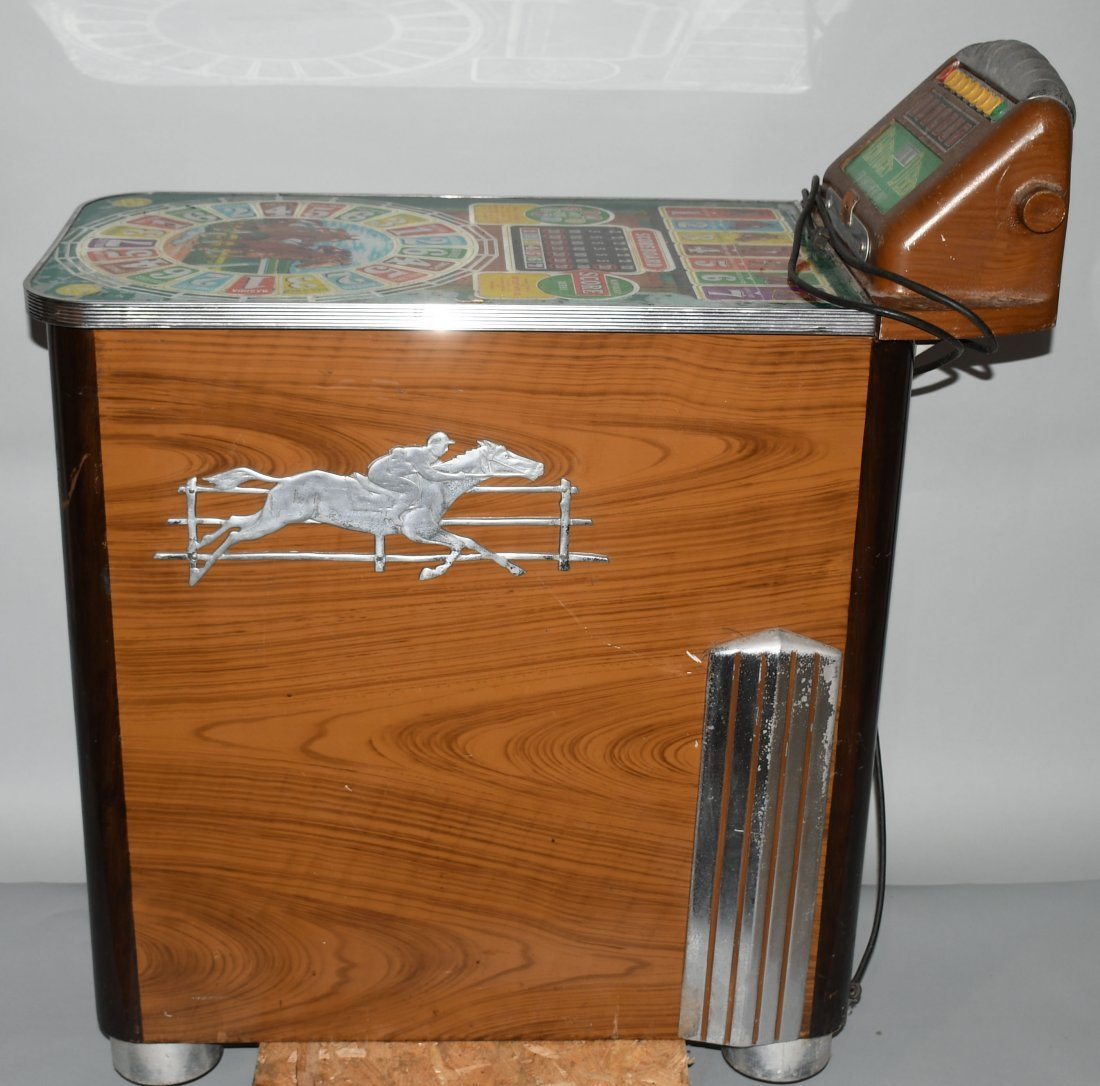 1950 BUCKLEY KENTUCKY DERBY ARCADE SLOT MACHINE - 7