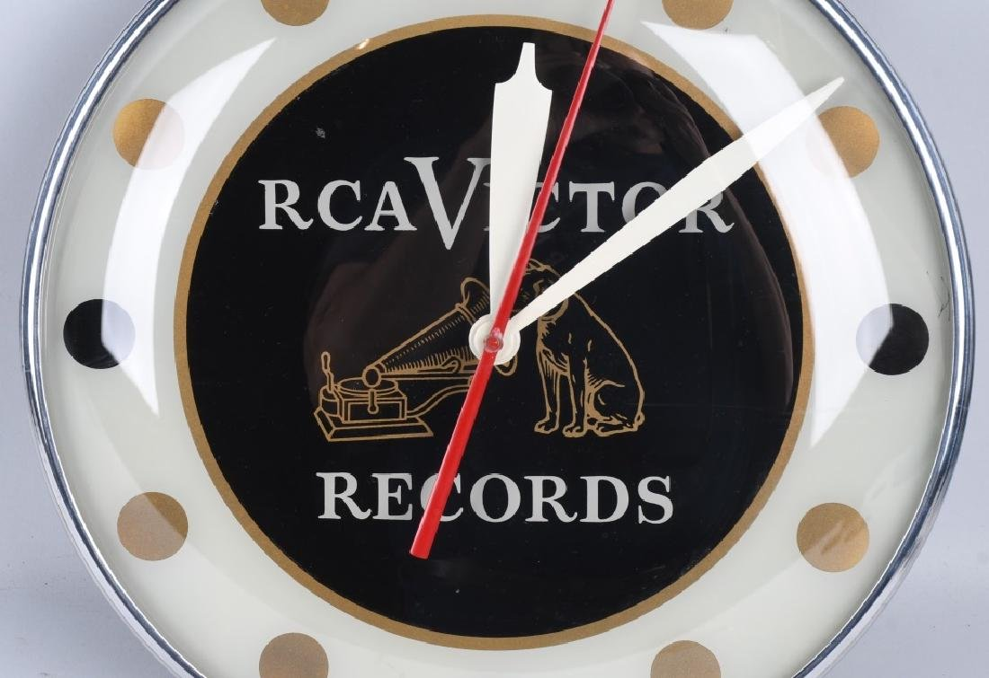 "15"" RCA VICTOR RECORDS PAM CLOCK - 2"
