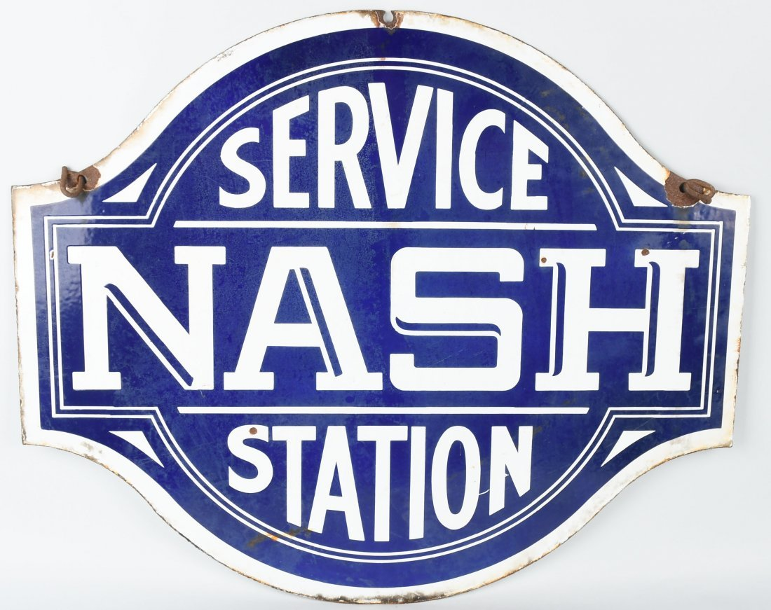 NASH SERVICE STATION DSP DIECUT SIGN