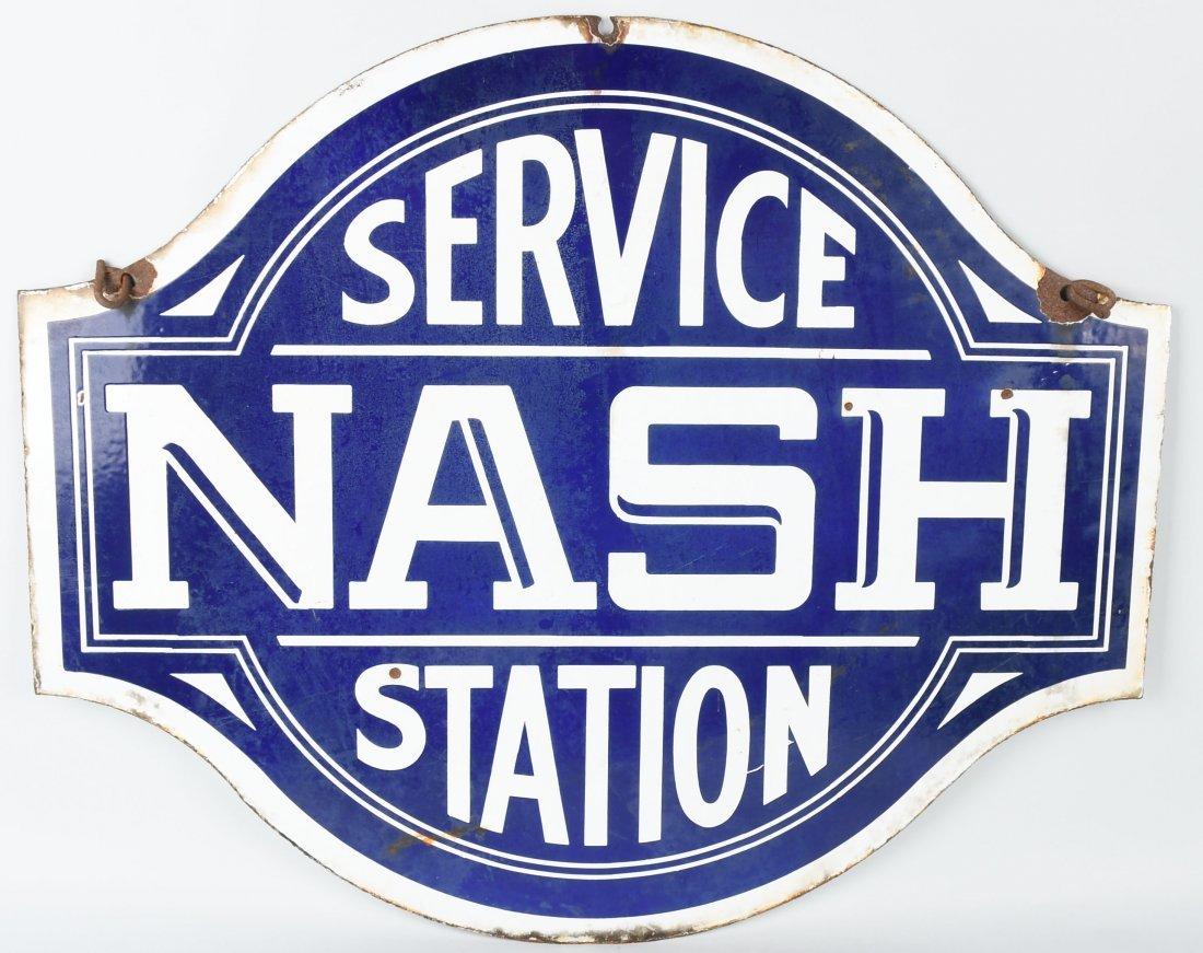 NASH SERVICE STATION DSP DIECUT SIGN